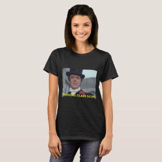 Camiseta escumalha da classe trabalhadora
