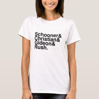 Camiseta Escuna do noivo do livro, cristão, Gideon,