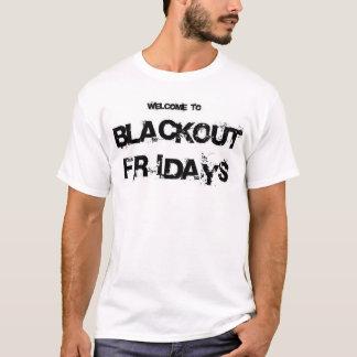 Camiseta Escurecimento sextas-feiras