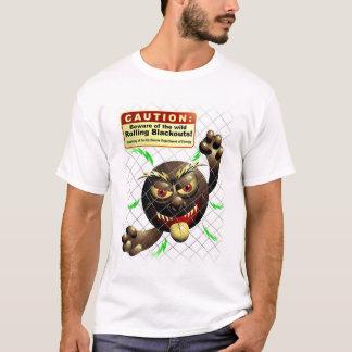Camiseta Escurecimentos do rolamento