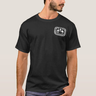 """Camiseta Escuro adulto """"facada t-shirt de WSFC dos seus"""