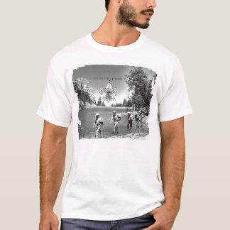 Camiseta Escuteiros de menino do t-shirt do vintage de