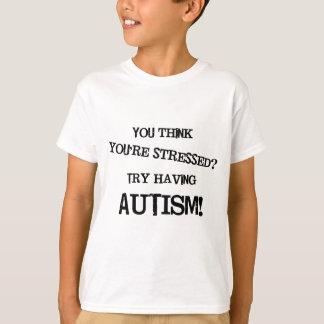 Camiseta Esforço do autismo
