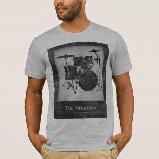 Camiseta esfrie & cilindros pretos & brancos à moda