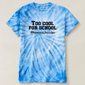 Camiseta Esfrie demasiado para o tshirt da escola