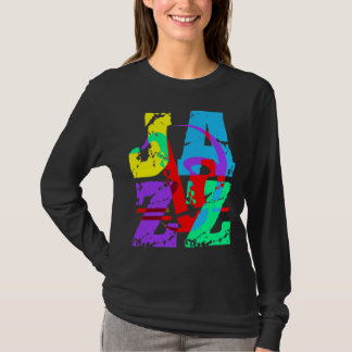 Camiseta Esfrie e jazz anca