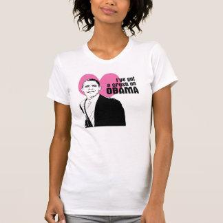 Camiseta Esmagamento de Obama