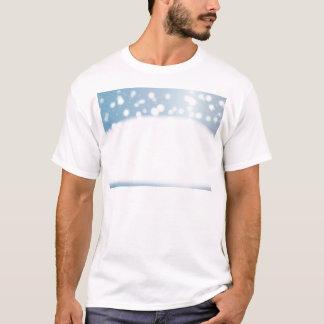 Camiseta Espaço da cópia da neve