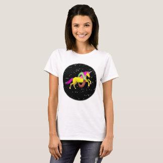 Camiseta Espaço da rosquinha da filhós do unicórnio