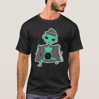 Camiseta Espaço estrangeiro para dentro