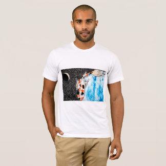 Camiseta Espaço Koi (homens)