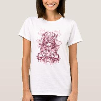 Camiseta Espada, asas do anjo e design fantásticos do