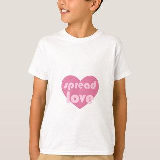 Camiseta Espalhe o amor (geral)