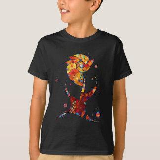 Camiseta Espanessua - flor espiral imaginária