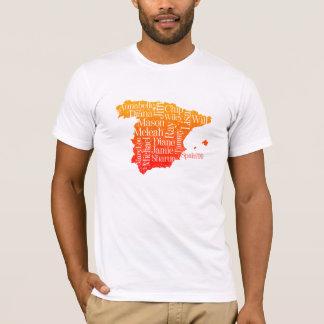 Camiseta Espanha 2009