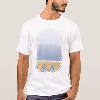 Camiseta Espanha, BLANCA da costela, vista do mar sobre a