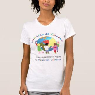Camiseta Espanhol do t-shirt das senhoras