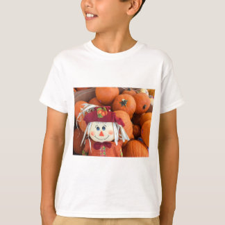 Camiseta Espantalho & t-shirt dos miúdos das abóboras
