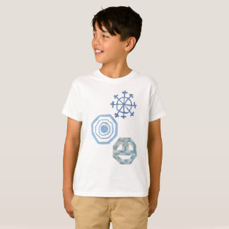 Camiseta Especial floco de neve o t-shirt de nenhum miúdo