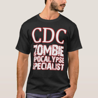 Camiseta Especialista do apocalipse do zombi do CDC