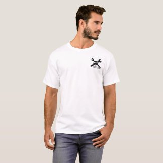 Camiseta Especialista do reparo do campista do vintage