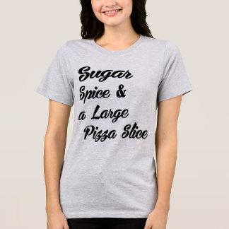 Camiseta Especiaria do açúcar do t-shirt de Tumblr e grande