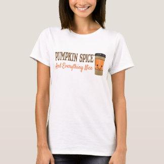 Camiseta Especiaria e tudo da abóbora t-shirt agradável