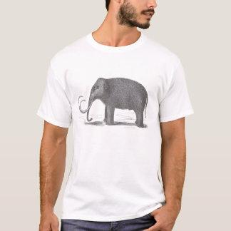 Camiseta Espécie extinto do Mastodon do Mammoth Woolly