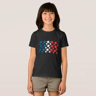 Camiseta Espelho inspirado pela bandeira de France