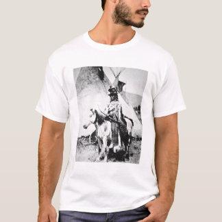 """Camiseta """"Espelhos principais, c.1875 (foto de b/w)"""