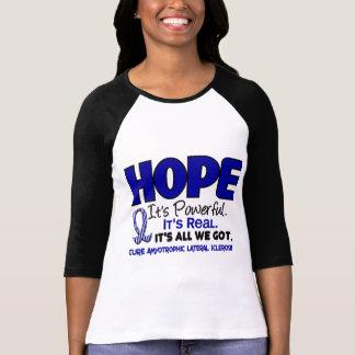 Camiseta ESPERANÇA 1 do ALS Lou Gehrig's Disease