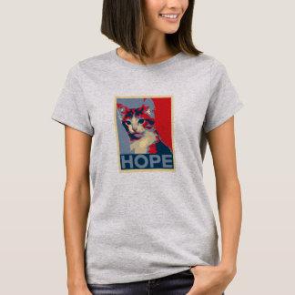 Camiseta ESPERANÇA Charlie o t-shirt do gatinho