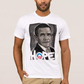 Camiseta esperança de obama