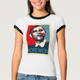 Camiseta Esperança de Obama ganhada