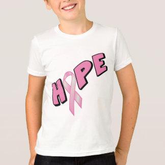 Camiseta Esperança do cancro da mama