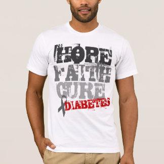 Camiseta Esperança. Fé. Cura