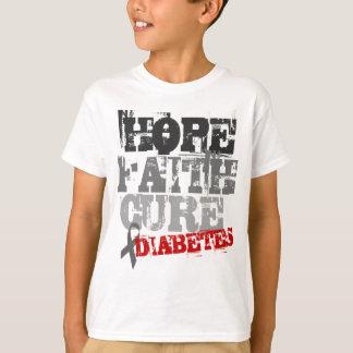 Camiseta Esperança. Fé. Cura. Diabetes
