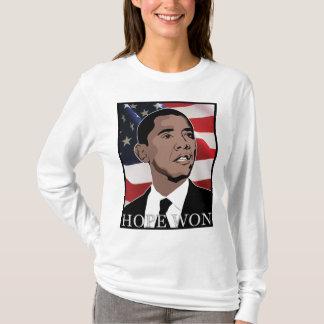 Camiseta esperança ganhada
