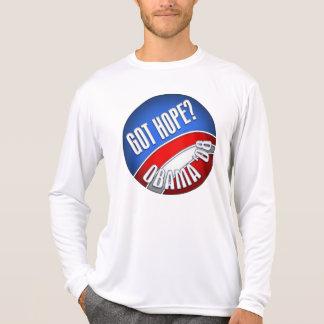 Camiseta Esperança obtida? Obama '08