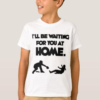 Camiseta Esperando o, preto