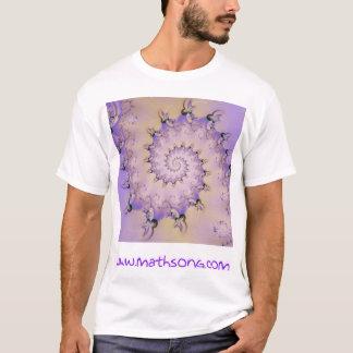 Camiseta Espirais da lavanda