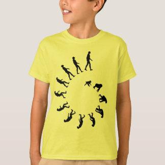 Camiseta Espiral da evolução