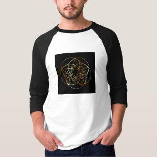 Camiseta Espiral de Fibonacci a geometria sagrado