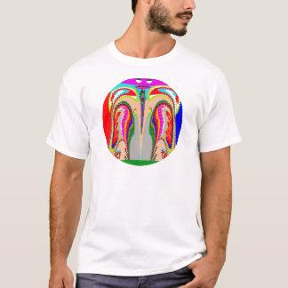 Camiseta ESPÍRITO da mostra n da TULIPA de um homem