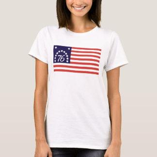 Camiseta Espírito de 76 - bandeira de Bennington