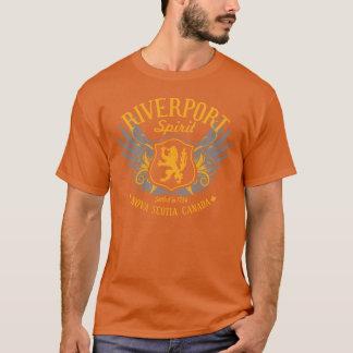 Camiseta Espírito de Riverport - t-shirt do vigor dos
