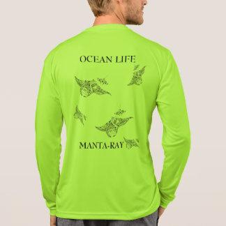 Camiseta Espírito do manta-raio da VIDA do OCEANO