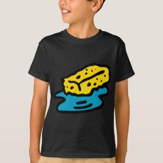 Camiseta Esponja embebendo