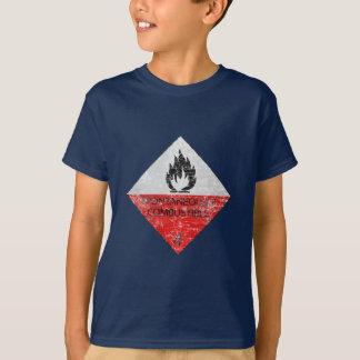 Camiseta Espontâneamente combustível