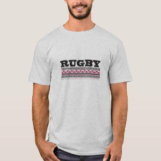 Camiseta Esporte da colisão do esporte de contato do rugby